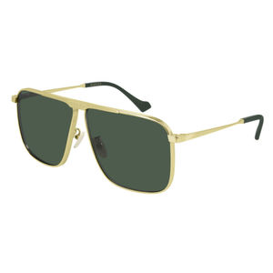 GUCCI 0840S 002 gold / green occhiali