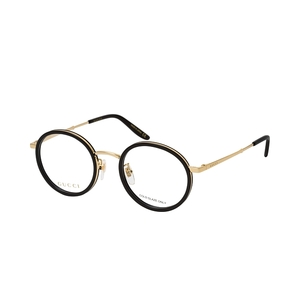 GUCCI 0679OA 001 black e gold occhiali