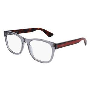 GUCCI 0004O - Grey/ Havana 004 occhiali