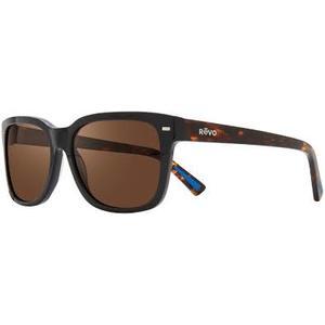 Revo TAYLOR S 1104 ECO 01 black e tartarugato / flash brown occhiali