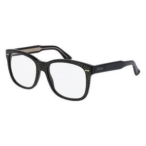 GUCCI 0048/S- Black/Strass 02 occhiali