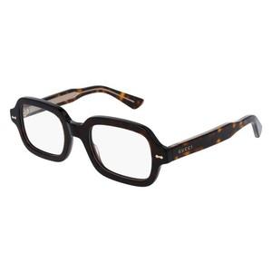 GUCCI 0072O - Havana/Gold  002 occhiali