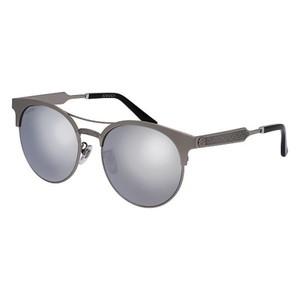GUCCI 0075/SK- Ruthenium/Silver 005 occhiali