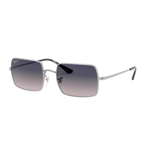 Ray ban RECTANGLE 1969 914978 silver / grey occhiali