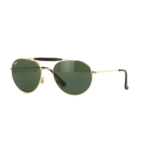 Ray ban 3540 001 gold / green occhiali