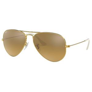 Ray ban AVIATOR LARGE METAL 3025 001/3K gold / brown occhiali