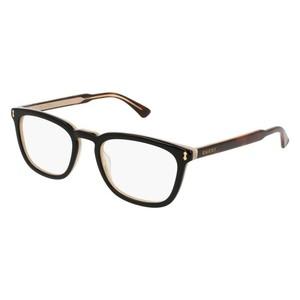 GUCCI 0126O - Black/Havana 005 occhiali