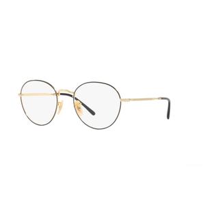 Ray Ban DAVID 3582V 2946 black e gold occhiali