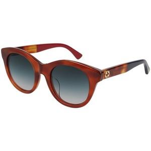 GUCCI 0169SA Havana/Grey 004 occhiali