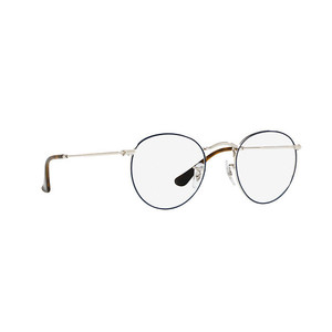 Ray Ban 3447V 2970 silver e blue occhiali