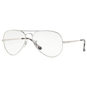 Ray Ban 6489 2501 silver occhiali