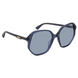 GUCCI 0258S -  Blue  003 Occhiali