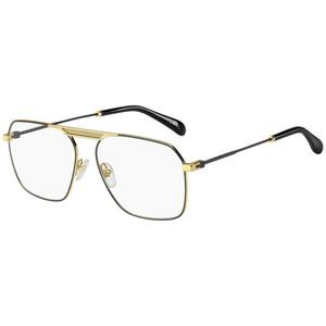 Givenchy 0118 2M2 gold e black satinato occhiali