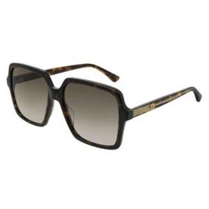 GUCCI 0375S  Havana/Brown 002 occhiali