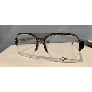 MINI eyewear 743012 50 crystal brown striato occhiali