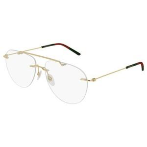 GUCCI 0398O -Gold 02 occhiali