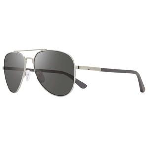 REVO RACONTEUR II S 1146 03GY silver / grey polarized occhiali