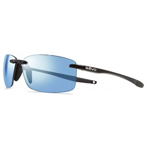 REVO DESCEND N 4059 01 BL black / blue water polarized occhiali