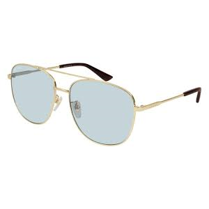 GUCCI 0410 SK Gold/Light Blue 005  occhiali