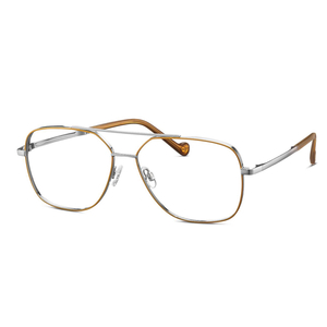MINI eyewear 742025 80 silver , yellow occhiali