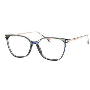 MINI eyewear 741014 40 tartarugato carta da zucchero  e aste rose gold occhiali