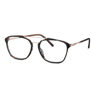 MINI eyewear 741011 60 zebrato brown occchiali