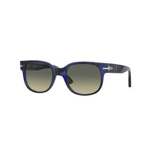 PERSOL 3257S 105371 blue striato / grey occhiali