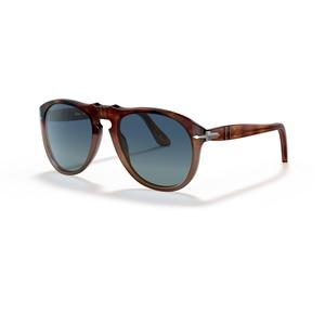 Persol 0649 1025S3 brown / light blue polarizzato occhiali