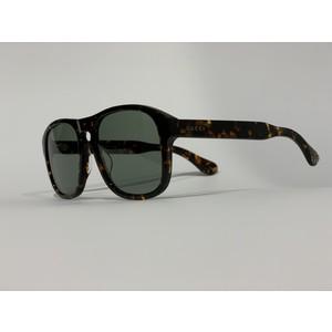 GUCCI 0583S  tartarugato/green 002 occhiali