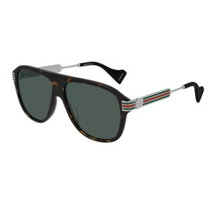 GUCCI 0587S  tartarugato /green 002 occhiali