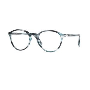 PERSOL 3218V 1051 grey zebrato occhiali