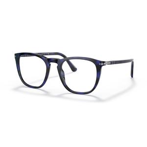 PERSOL 3266V 1099 blue tartarugato occhiali