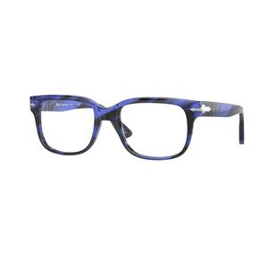 PERSOL 3252V 1053 blue striato occhiali