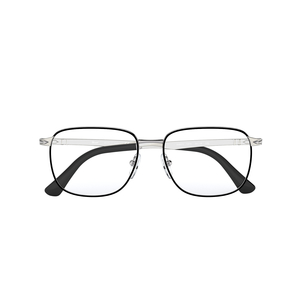 PERSOL 2462V 1074 black e silver occhiali