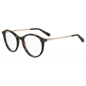 LOVE MOSCHINO 578 086 tartarugato occhiali