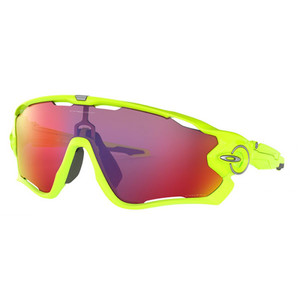 OAKLEY 009290 26 JAW BREAKER green fluo / prizm road occhiali