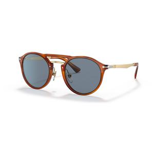 PERSOL  3264S 96/56 tartarugato / light blue occhiali