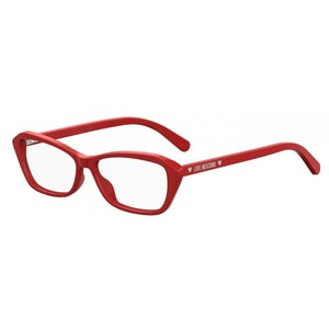 LOVE MOSCHINO 538 C9A red occhiali