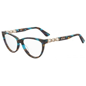 MOSCHINO 589 X8Q striato multicolor brown occhiali