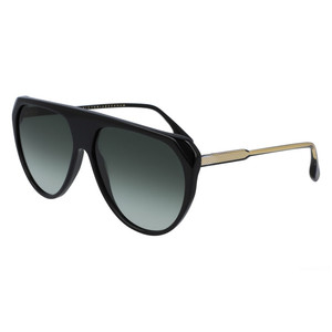 VICTORIA BECKHAM 600S 001 black / green occhiali
