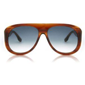 VICTORIA BECKHAM 141S 223 striato brown / light blue occhiali