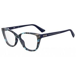 MOSCHINO 583 EDC black, blue, gold occhiali
