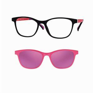 CENTRO STYLE F013950246000N matte black e fucsia / purple occhiali