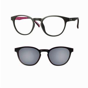 CENTRO STYLE 56363 matte black / grey occhiali
