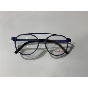LOOK - LOOKKINO 03812 W4 matte blue striato occhiali