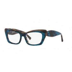 ALAIN MIKLI A03119 003 blue e brown occhiali