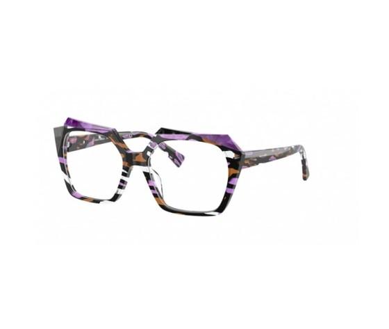 Alain mikli a0 3121 bastina 002 purple stained glass noir viol 8056597327688 2 550x550w
