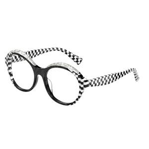 ALAIN MIKLI A03118 003 black e white occhiali