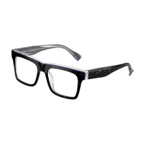 ALAIN MIKLI A03114 001 black e blue occhiali