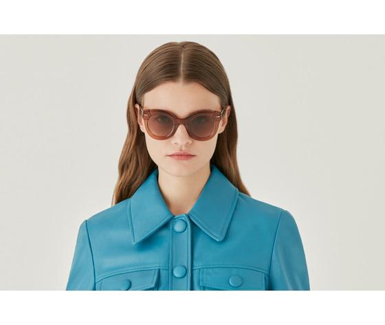 65899 eddie cat eye brown optical glasses by gigi studios 1